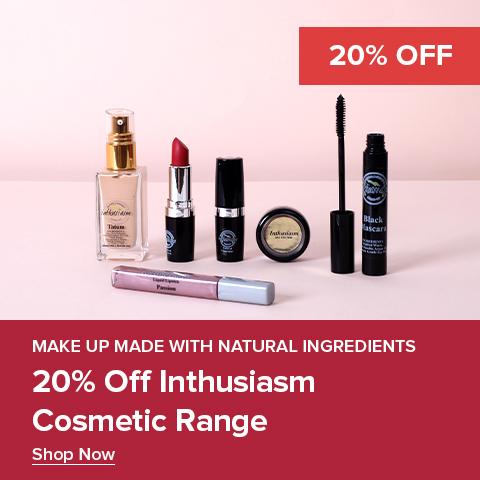 20% Off Inthusiasm Range