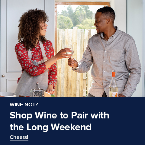 Shop Wine to Pair with the Long Weekend