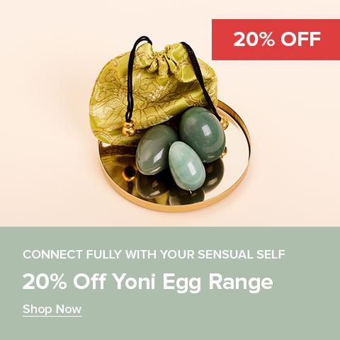 20% Off Yoni Eggs Range