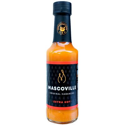 Mascoville Habanero Hot Sauce - Extra Hot