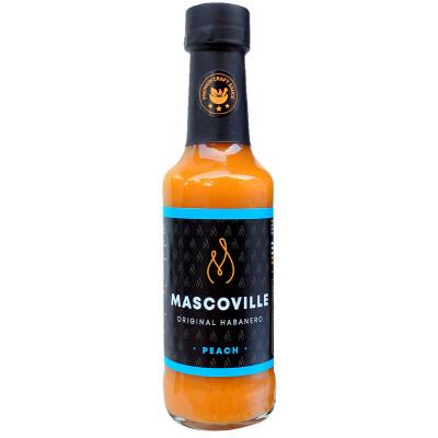 Mascoville Habanero Hot Sauce - Peach