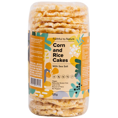 Faithful to Nature Corn and Rice Cakes