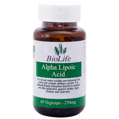 Biolife Alpha Lipoic Acid Vegicaps