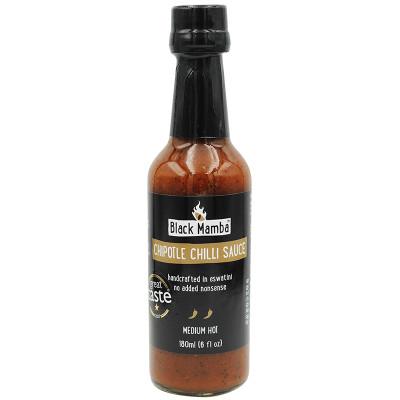 Black Mamba Chipotle Chilli Sauce