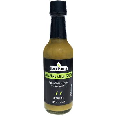 Black Mamba Jalapeno Chilli Sauce