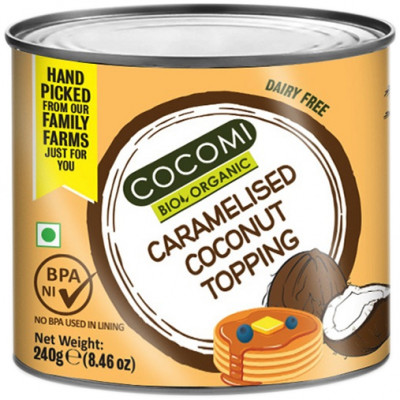 Cocomi Organic Caramelised Coconut Topping