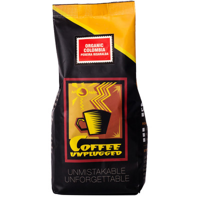 Coffee Unplugged Organic Colombia Beans