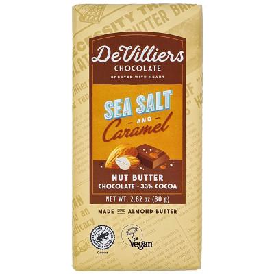 De Villiers Sea Salt & Caramel Nut Butter Chocolate