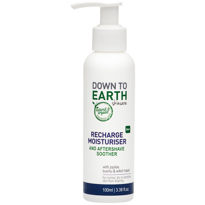 Down to Earth Recharge Moisturiser & Aftershave Soother