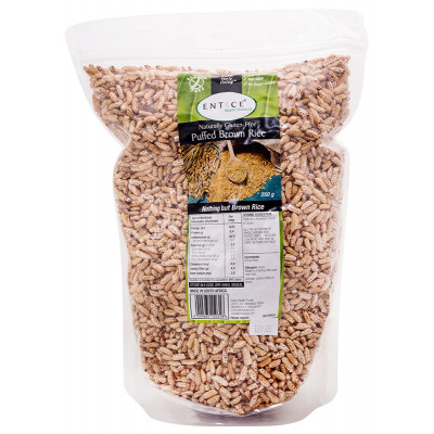 Entice Puffed Brown Rice