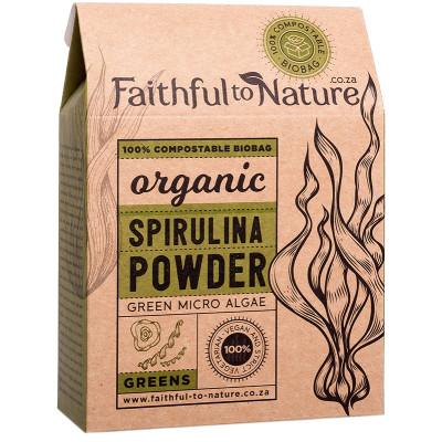 Faithful to Nature Organic Spirulina Powder