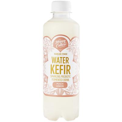 Happy Culture Live Sparkling Water Kefir - Peach Lemon