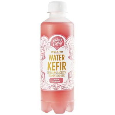 Happy Culture Live Sparkling Water Kefir - Wild Berries
