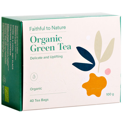 Faithful to Nature Organic Green Tea