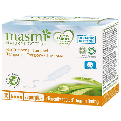 Masmi Organic Cotton Super Plus Tampons