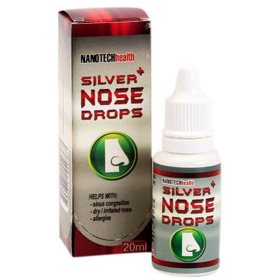Nanotech Silver Nose Drops