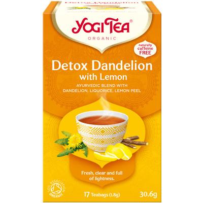 Yogi Tea Detox Dandelion with Lemon
