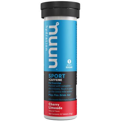 nuun Hydration Sport + Caffeine Cherry Limeade