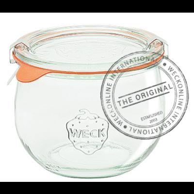 Weck Tulip Glass Jar