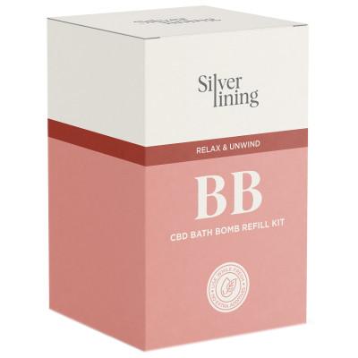 Silver Lining CBD Bath Bomb Refill Kit