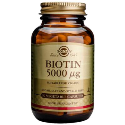 Solgar Biotin 5000ug