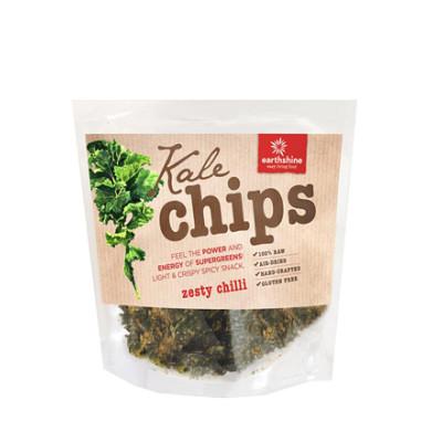 Earthshine Raw Kale Chips - Zesty Chill