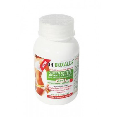 Dr. Boxall's Green Coffee Bean Extract with Raspberry Ketones