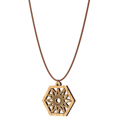 The Artists Sacred Geometry Northern Star Pendant