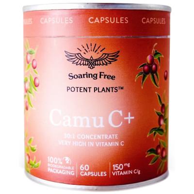 Soaring Free Potent Plants - Camu C+ Capsules