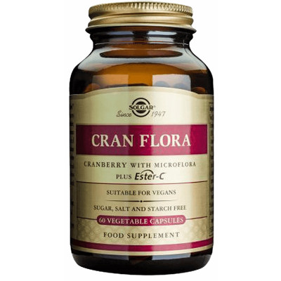 Solgar Cran Flora with Probiotics plus Ester C