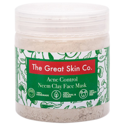 The Great Skin Co Acne Control Neem Face Mask