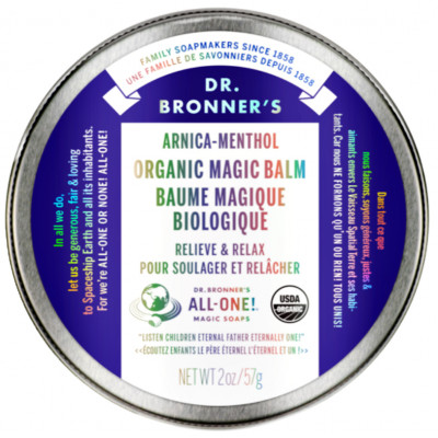 Dr. Bronner's Arnica Menthol Magic Balm
