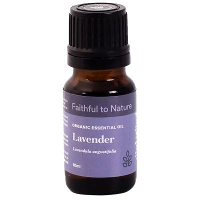 Faithful to Nature Organic Lavender Essential Oil