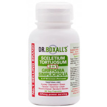Dr. Boxall's Sceletium with Griffonia Seed Extract & Vit B6 Veggie Caps