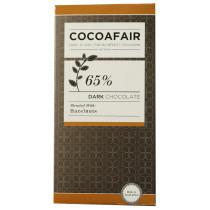 CocoaFair 65% Dark Chocolate with Hazelnuts