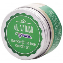 All Natural Deodorant Lavender & Tea Tree