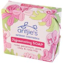 Antjies Rejuvenating Rose Geranium Soap