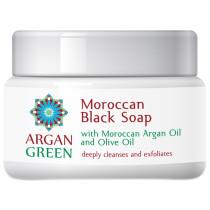 Argan Green Moroccan Black Soap