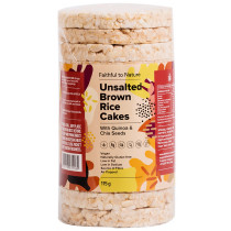 Faithful to Nature Unsalted Brown Rice Cakes