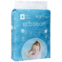 Eco Boom Plant Based Diapers L - 70 Pack