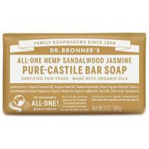 Dr. Bronner's Pure Castile Soap Bar - Sandalwood Jasmine