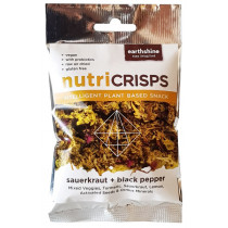 Earthshine Nutricrisps - Sauerkraut & Black Pepper