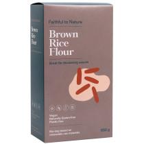 Faithful to Nature Brown Rice Flour 650g