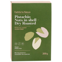 Faithful to Nature Pistachio Nuts in Shell - Dry Roasted