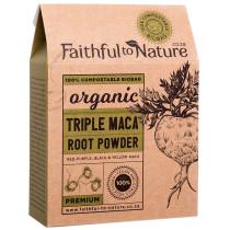 Faithful to Nature Organic Triple Maca Powder - Premium