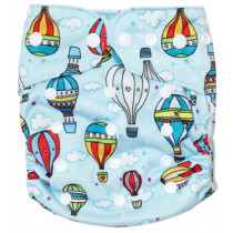 Fancypants All-In-One Cloth Nappy - Balloons