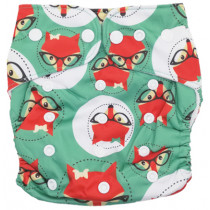 Fancypants All-In-One Cloth Nappy - Foxy