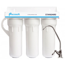 Ecosoft Standard 3-Stage System With Faucet