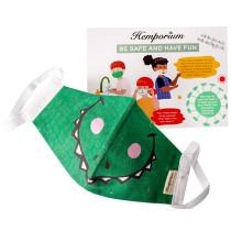Hemporium Kids Face Mask - Monster Fierce