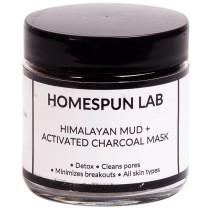 Homespun Lab Himalayan Mud + Activated Charcoal Mask Powder